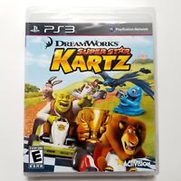 DreamWorks Super Star Kartz (Sony PlayStation 3, 2011) Brand New Factory Sealed