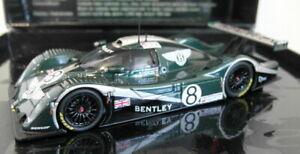 Minichamps 1/43 Scale diecast - 436 021308 Bentley EXP Speed 8 Le Mans 24H 2002