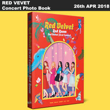 RED VELVET First Concert Red Room Snap Photo book Book+Bookmark KPOP Sealed
