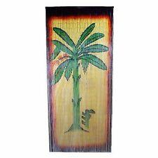 Bamboo54 5250 Banana Tree Scene Curtain