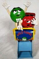 Mars Inc Red Green M&M Wild Thing Roller Coaster Candy Dispenser Display