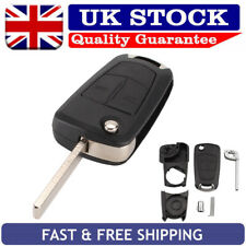 For Vauxhall Opel Astra H Corsa Vectra Combo Meriva 2 Button Key Case Replace