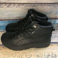 NWB Puma Tarrenz SB Puretex WATERPROOF Black Boots 370552-01 Men's US 10