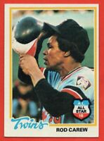 1978 Topps #580 Rod Carew EX-EXMINT+ WRINKLE HOF Minnesota Twins FREE SHIPPING