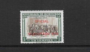 HONDURAS. 1953. AIR. OFFICIALS OPTD. 1L HIGH VALUE NEVER HINGED MINT. SG 520