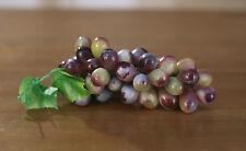 Artificial Grapes Bunch Fake Fruit Vegetables Faux Food Home Decor 17cms