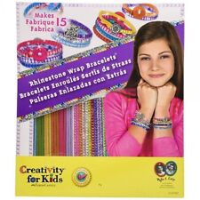 Creativity for Kids Rhinestone Wrap Bracelets