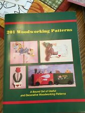 201 Woodworking Patterns Book, plus Yard Art Patterns, Windfield,Sherwood, Unbra