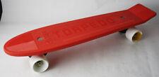 """Rare Vintage 80'S Torpedo 22.5"""" Skate Board Olefini New Unused With Faults"""