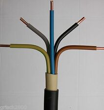 NYY-J 5x2,5 mm² 100m Meter Erdkabel StarkstromkabelInstallationskabelKupferkabel