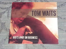 Tom Waits:  God's Away On Business  CD Single one track promo  NM