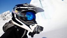 Dango Gopro Snow Mobile Helmet Gripper Clip Mount Holder Go Pro