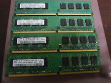 SAMSUNG- 4GB 4X1GB DDR2 2RX8 PC2-5300U 667MHZ 240PIN DIMM Intel RAM Dtop memory