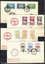 CAMBODIA 1966 1967 3  covers , 2  FDC first day    cambodge  premier jour