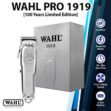 (New)Wahl Pro 1919 Limited Edition 100 Years Cordless Corded Shaver Hair Clipper