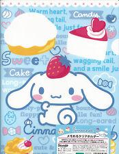 Sanrio Cinnamoroll Folder Portfolio Side Open