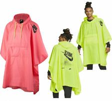 Nike Mens Womens Hooded Waterproof Raincoat Woven Festival Poncho Rain Jacket