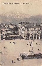 4335) CUNEO MONUMENTO A BARBAROUX E CORSO NIZZA, ANIMATA, BILIARDO. VG.