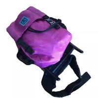 Pleasant Company Doll Hiking Backpack Purple American Girl 1996 Retired 2840