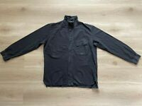 Stone Island Black Cotton Vintage Button Up Overshirt Shirt - XL (Made in Italy)