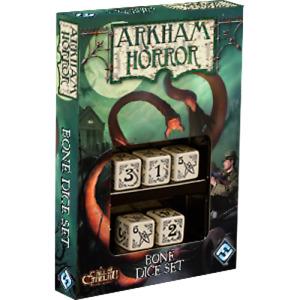 Bone Dice Set Arkham Horror Board Game Asmodee NIB