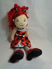 """2009 Groovy Girls Manhattan Toy Co Lana The Lady Bug - missing wings 13"""""""