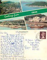 s08256 Oban, Argyll, Scotland postcard posted 1979 stamp