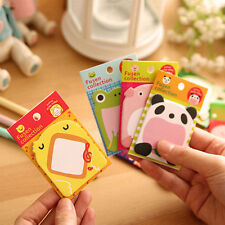 1 x Cute Cartoon Sticker Post It Bookmark Point Marker Memo Flag Sticky Notebook