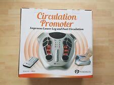 PureMate Elektromagnetisches Fußzirkulationsmassagegerät, Fußmassage, 15 Modi