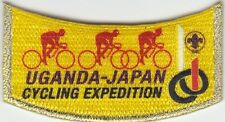 23rd world scout jamboree 2015 japan / UGANDA Contingent  CYCLING official patch