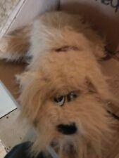 Vintage Tonka Pound Puppy Furries Shaggy Tan Puppies Plush Dog Stuffed Animal