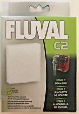 Fluval Hagen C2 Power Filter Stage 1 Foam Pad Media 2 pack 14005