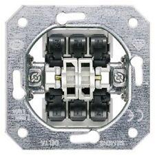 SIEMENS DELTA Schalter-Geräteeinsatz UP, Doppel-Wechselschal
