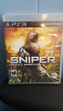 SNIPER GHOST WARRIOR Sony PlayStation 3, 2011 Blu-ray Disc