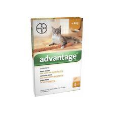 ADVANTAGE 40 x 4 pipettes (0.4 ml) anti puces chat Cat - 4 kg antiparasitaire