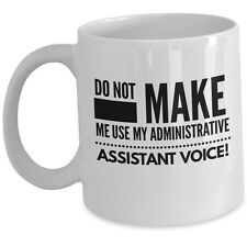 Funny Administrative Assistant Coffee Mug Admin Professional Day Cup Office Gift