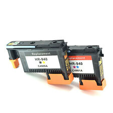 Durable Print Head 2-Pack HP940 C4900A C4901A For HP OfficeJet Pro 8000 8500 New