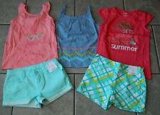 Size 7 years outfit Gymboree,Desert Dreams,NWT,tops,shorts,5 pc. set