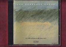 JAN GARBAREK - IT'S OK TO LISTEN TO THE GRAY VOICE CD APERTO NON SIGILLATO