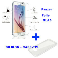 Silicon Case Cover + TEMPERED GLASS SCREEN PROTECTOR FOR Samsung Galaxy S7 G930