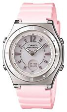 New CASIO Watch Wave Septar Radio Solar LWA-M142-4AJF Pink/Silver Women