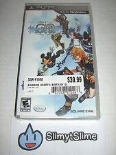 Kingdom Hearts: Birth by Sleep (Action RPG; Square Enix, Sony PSP, 2010) NEW!