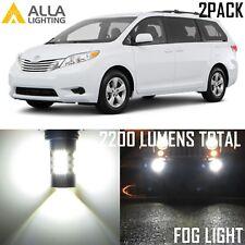 Alla Lighting 54-LED Fog Light 9006 6000K Super White Driving Bulb for Toyota