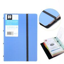 Business Card Holder Book Name Card Organizer Book Case 180 Cards 198x14x3cm