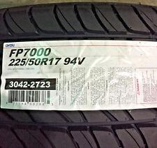 4 New 225 50 17 Ohtsu FP7000 Tires