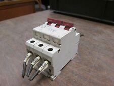 Klockner Moeller Circuit Breaker FAZ G10A 10A 3P Used