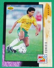 RARE FOOTBALL CARD UPPER DECK 1994 USA 94 ROMARIO GOLDEN BOOTS BRESIL BRASIL