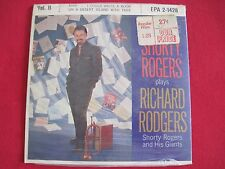 SHORTY ROGERS PLAYS RICHARD RODGERS - RCA EPA 2-1428 - RARE SEALED JAZZ 45 EP PS