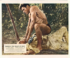 TARZAN AND THE VALLEY OF GOLD MIKE HENRY LOBBY CARD