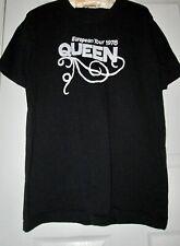 Pre-owned Vintage Queen (1978 European Tour) T-Shirt Design